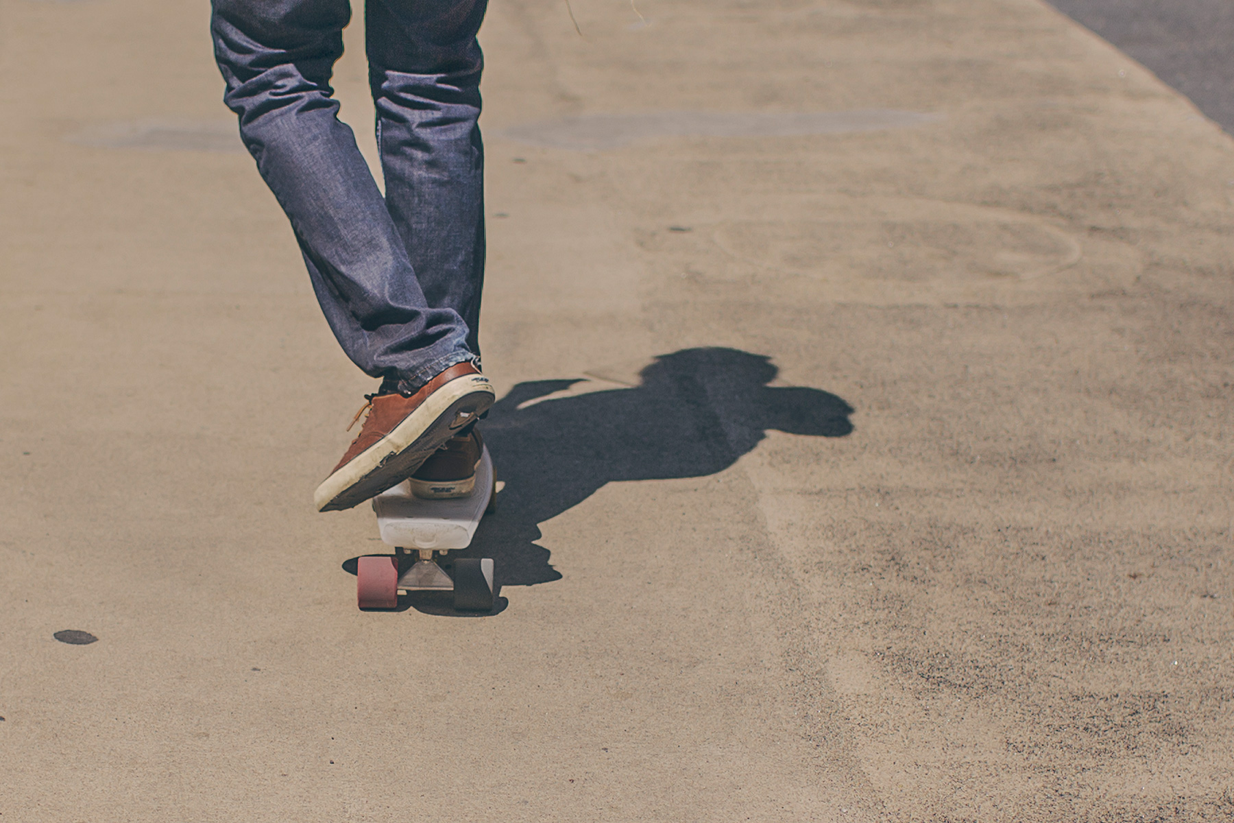 Teenager skateboarding: Anxiety in teenagers