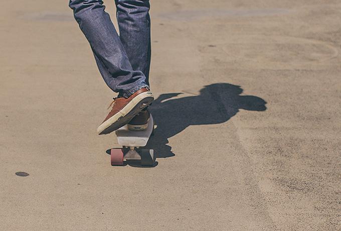 Teenager skateboarding: Anxiety in teenagers