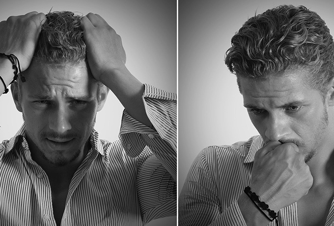 World Bipolar Day: Man showing different emotions