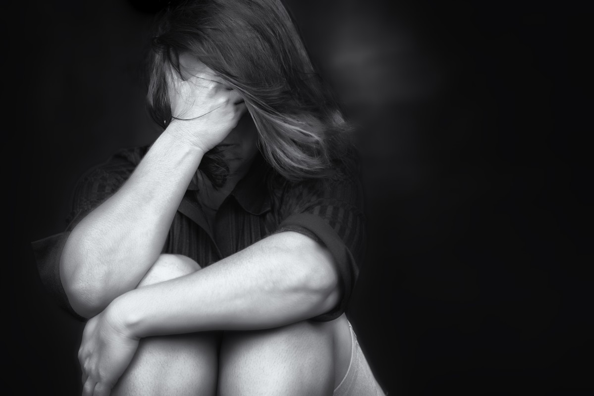 Woman crying. Domestic and Family Violence Prevention – it's up to all of us