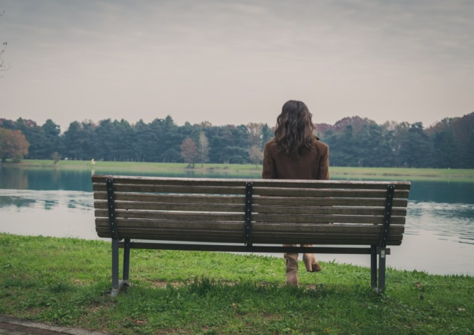 Lonely woman - top blog topics of 2018